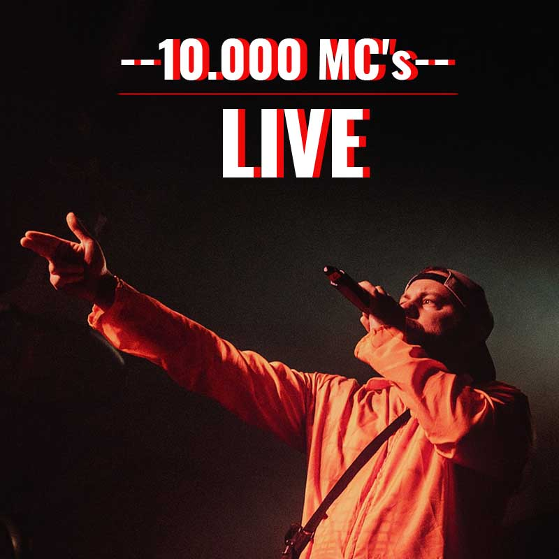 Upcoming: Amir P - 10.000 MC's LIVE