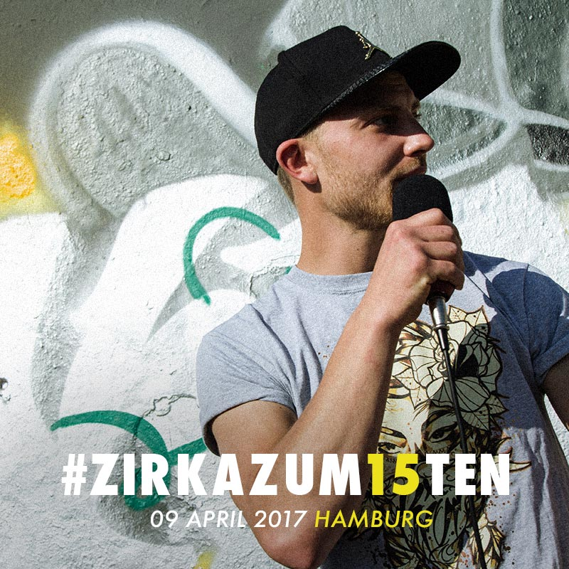Upcoming: ZIRKA - #ZIRKAZUM15TEN FREESTYLE #32
