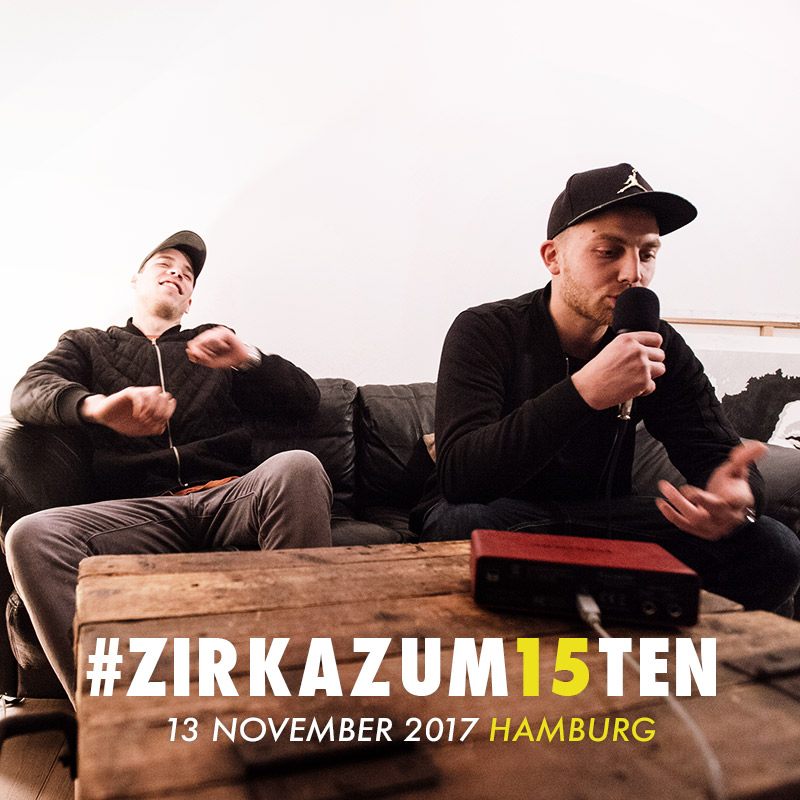 Upcoming: za. - #ZIRKAZUM15TEN FREESTYLE #39