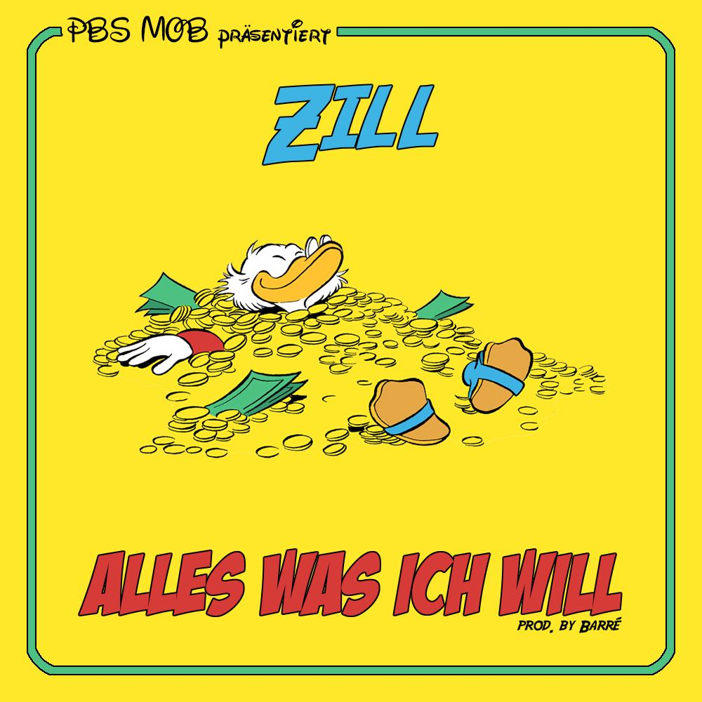 Upcoming: Zill - Alles Was Ich Will (prod. Barré)
