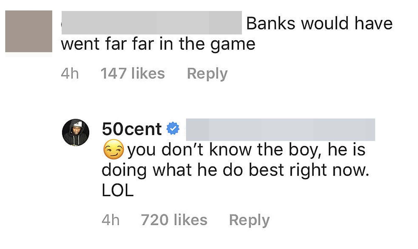 50 Cent über Lloyd Banks