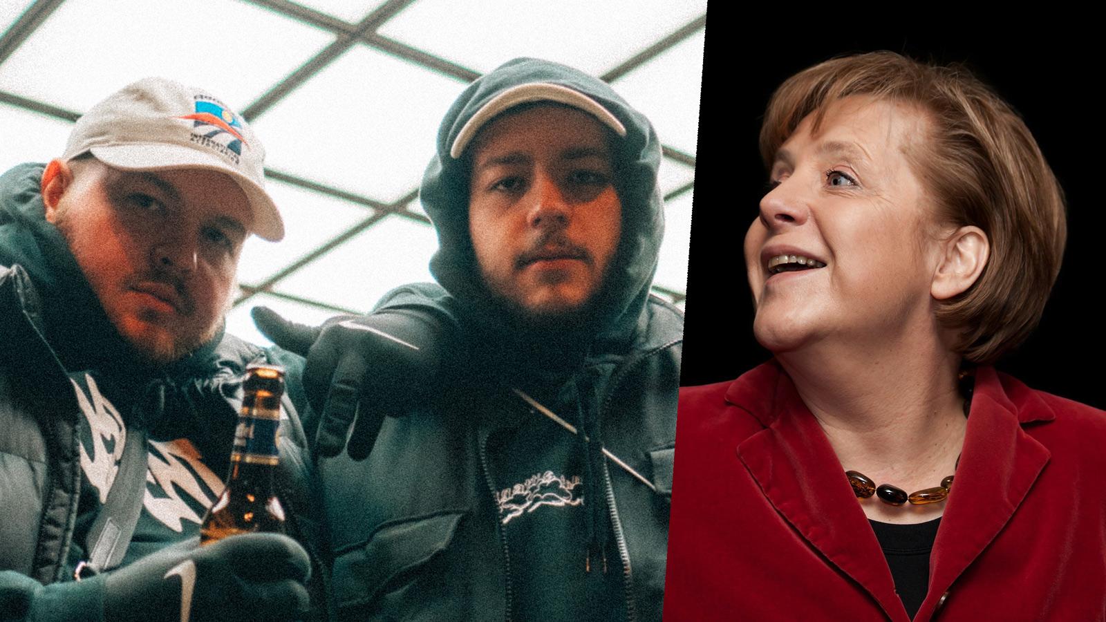 Lugatti & Tom Hengst: Fatty rauchen mit Angela Merkel?