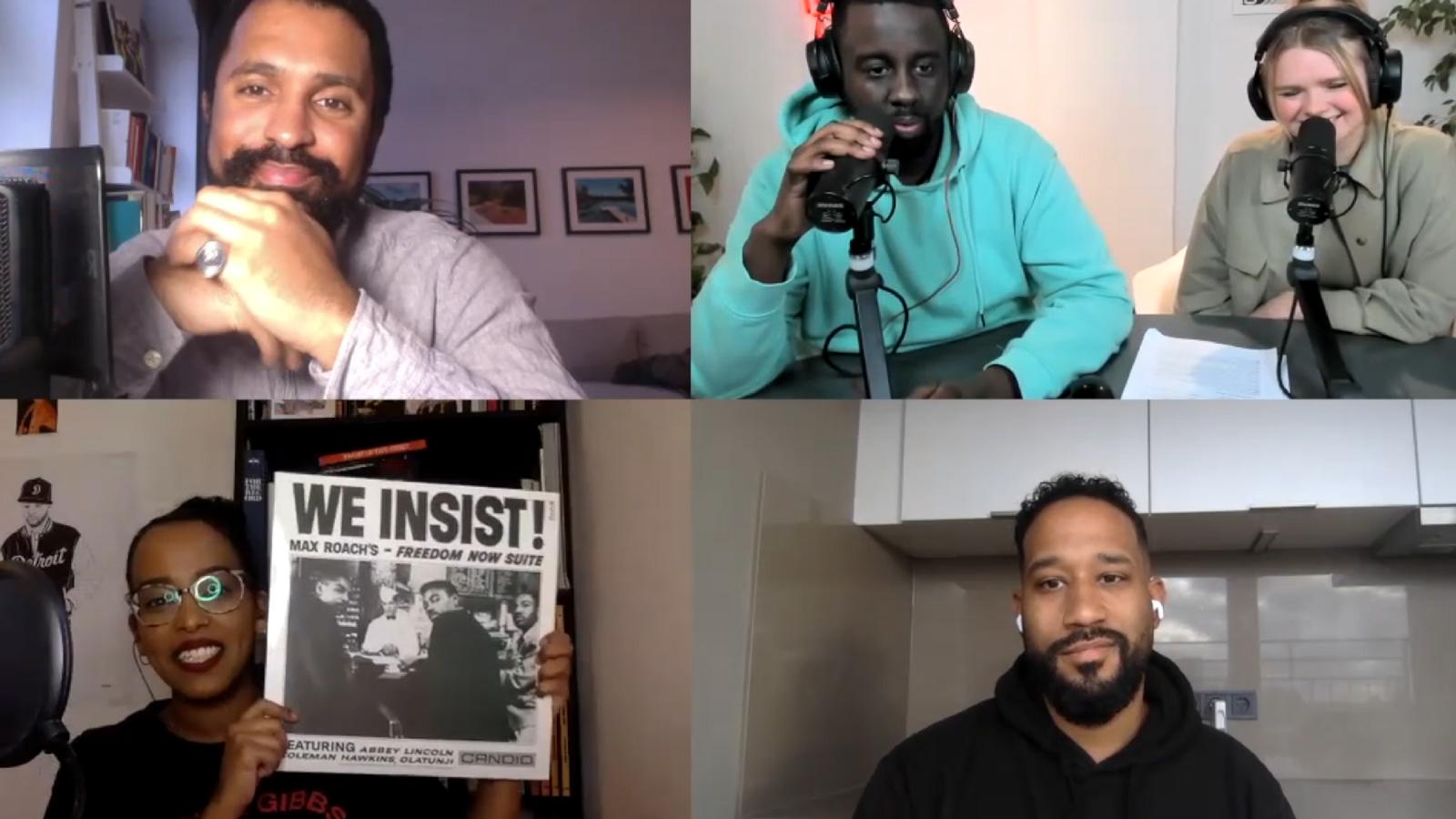 Die einflussreichsten Alben der Black History: Talk mit Jalil, Malcolm Ohanwe & Feven Keleta