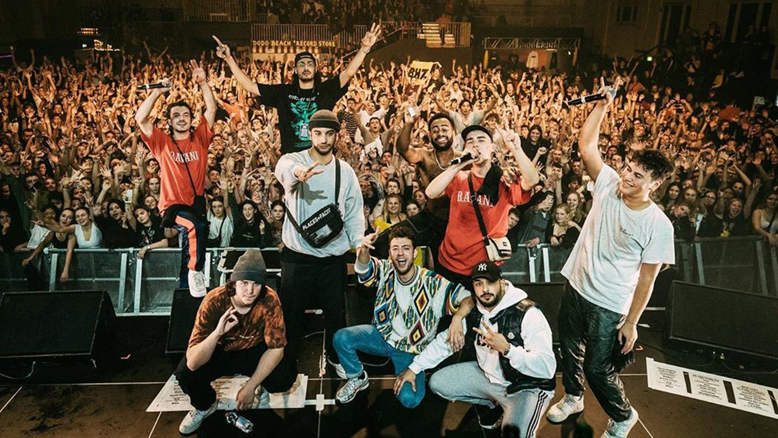 BHZ: Turnup mit der ganzen Posse – Hiphop.de Awards 2019