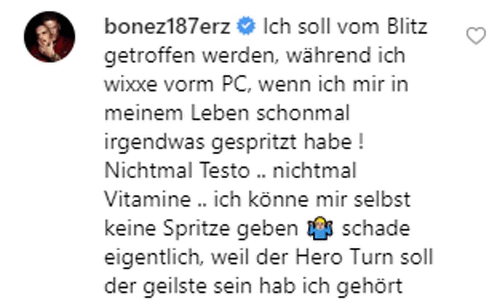 Bonez MC spricht über Heroin