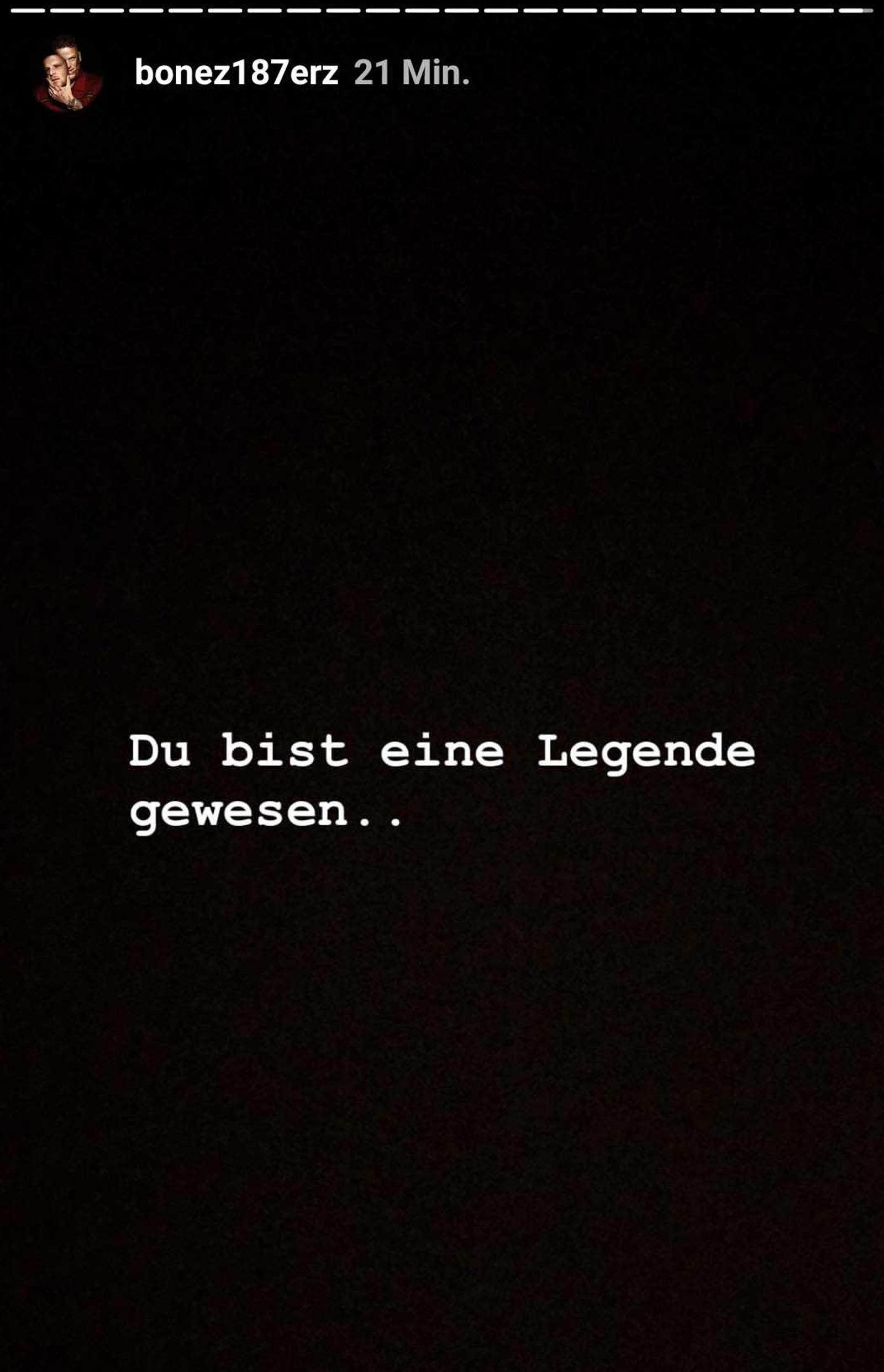 Bonez MC über Flers Legendenstatus