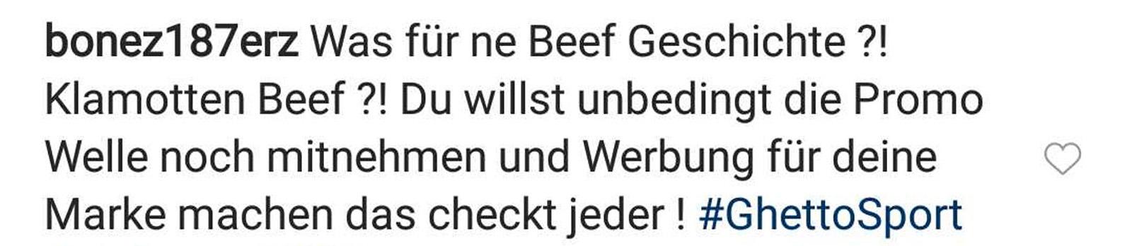 Bonez MC über den Mode-Beef