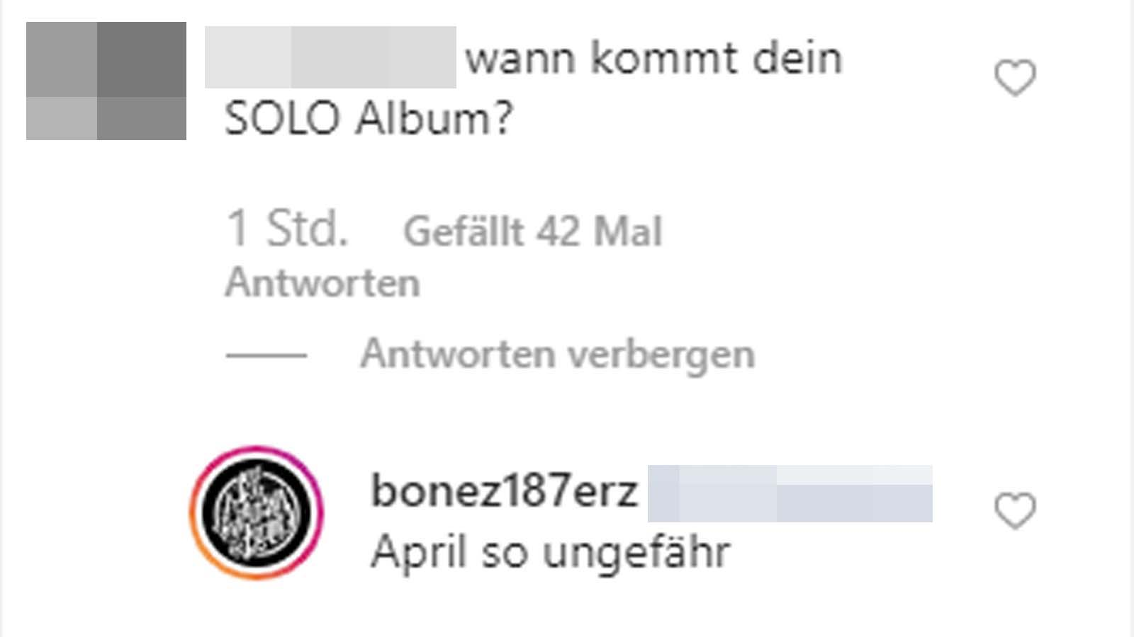 Bonez MC stellt sein nächstes Soloalbum für April 2020 in Aussicht