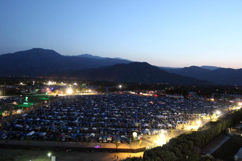 Coachella 2014 Campingplatz