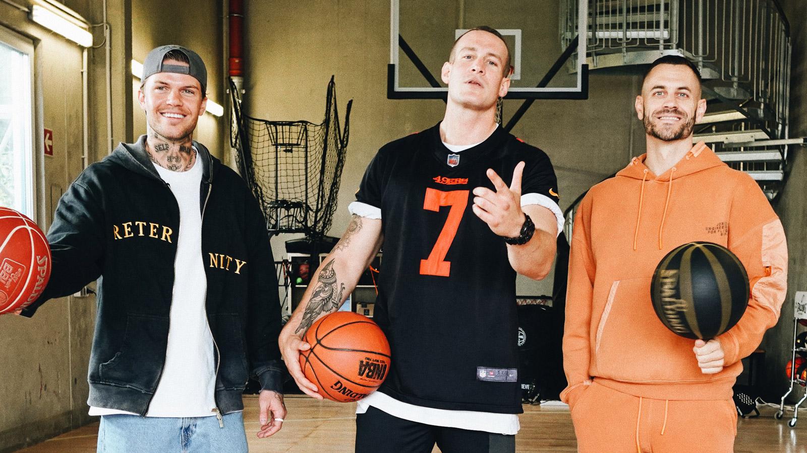 Hiphop meets Basketball: Rapper Coach Bennet & Trainer Paul Gudde im Interview mit Luke