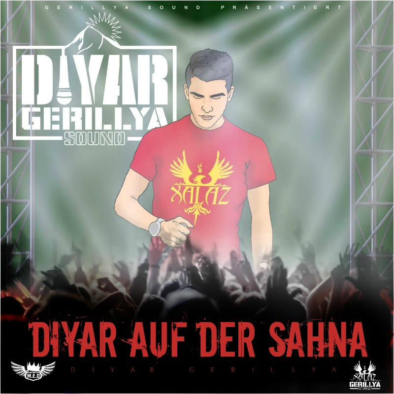 Upcoming: Diyar Gerillya - DIYAR AUF DER SAHNA (Mixtape)