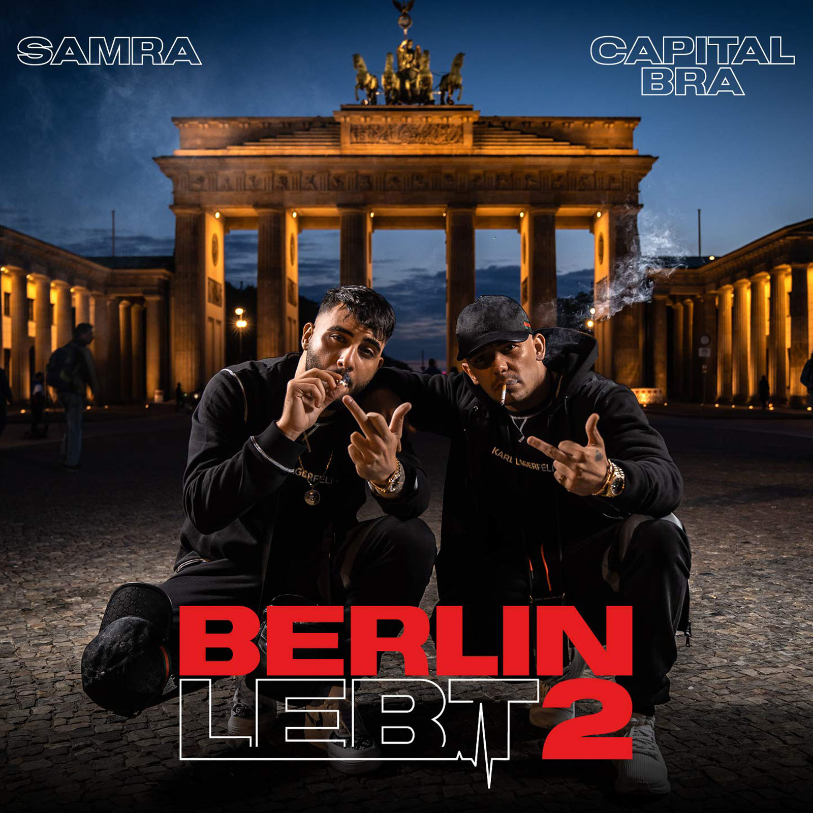Capital Bra, Samra - Berlin Lebt 2 | Hiphop.de