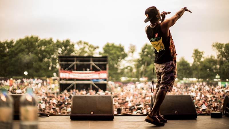 Dead Prez live auf dem Out4Fame Festival 2015