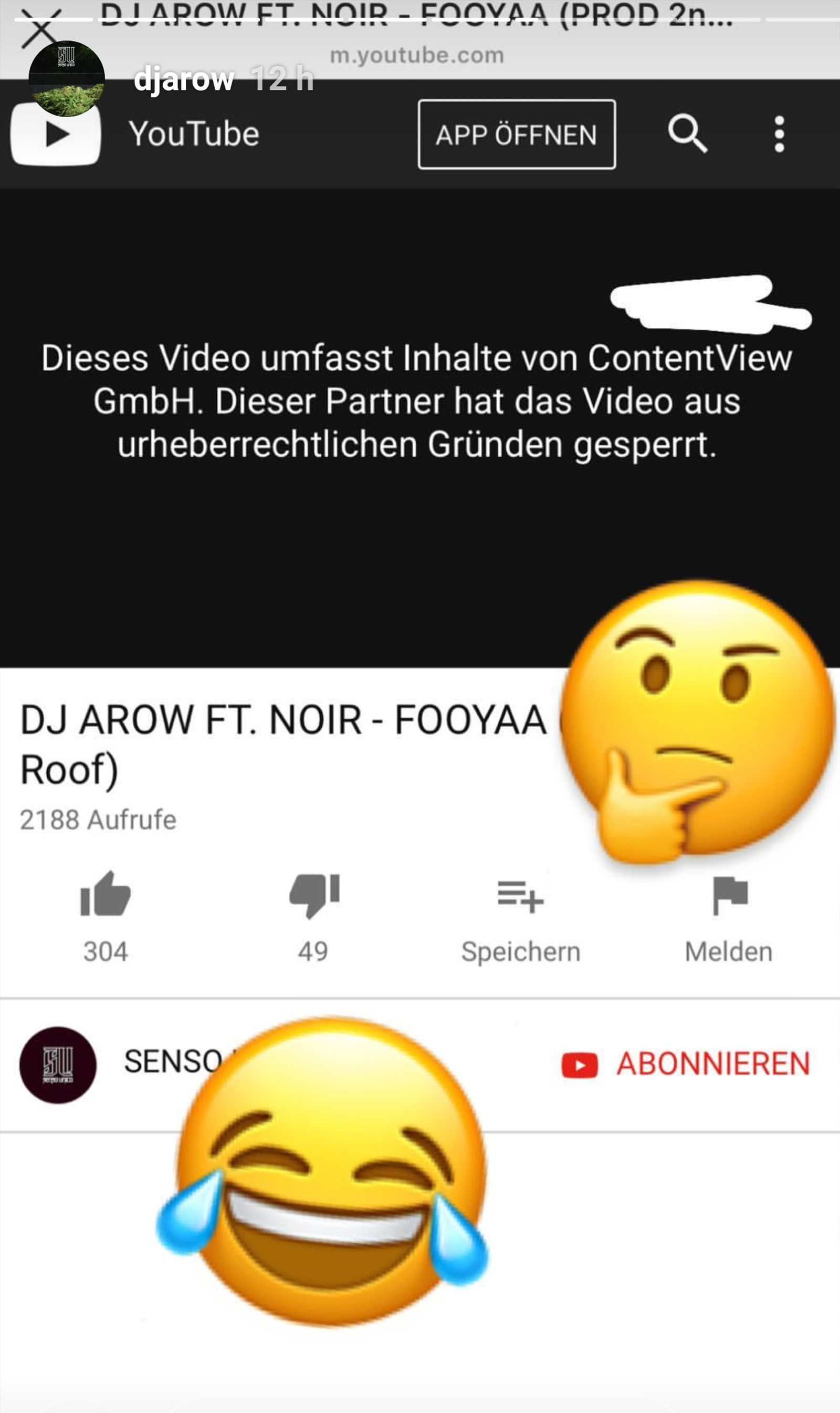 DJ Arow kommentiert Sperrung von Foyaa