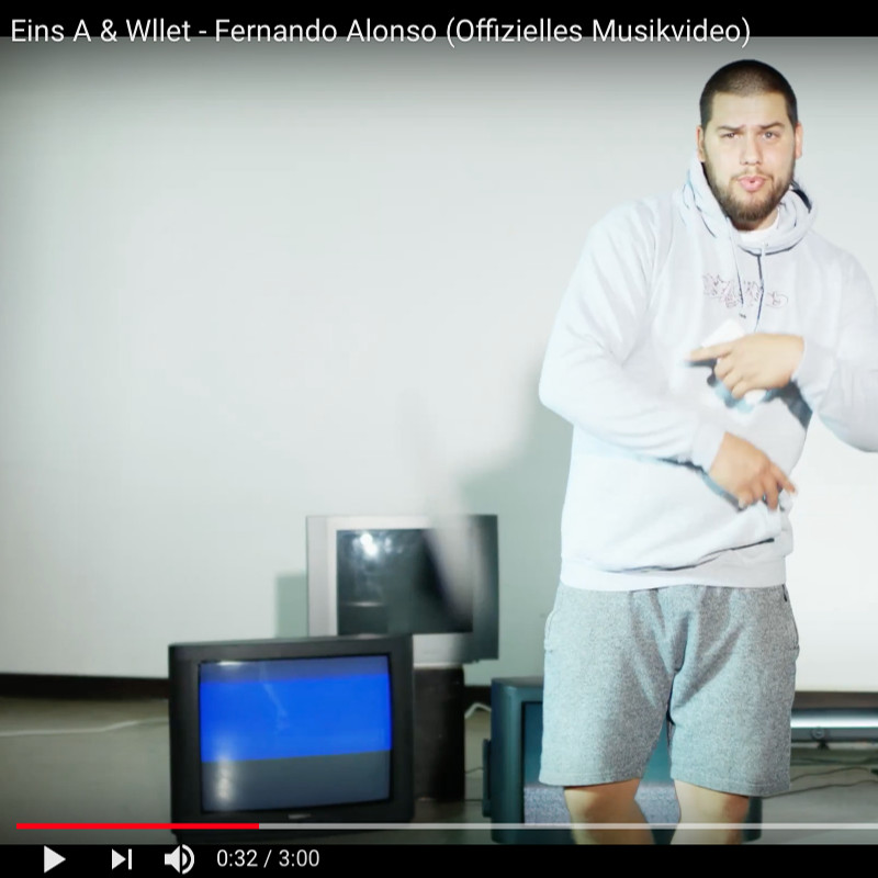 Upcoming: Eins A - Fernando Alonso (prod. By Wllet)