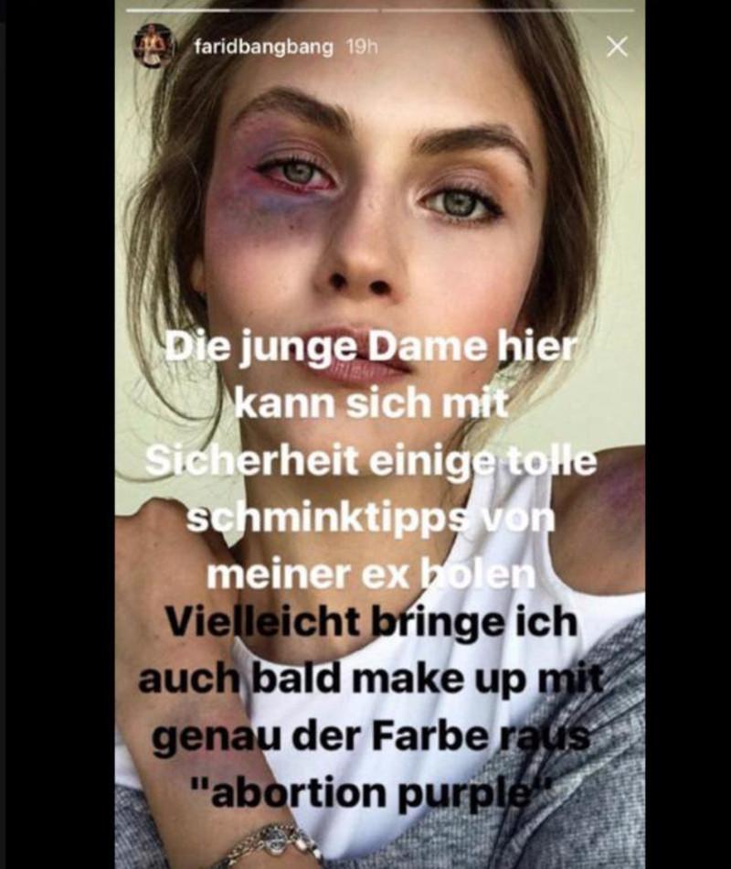 Farid Bang Frau