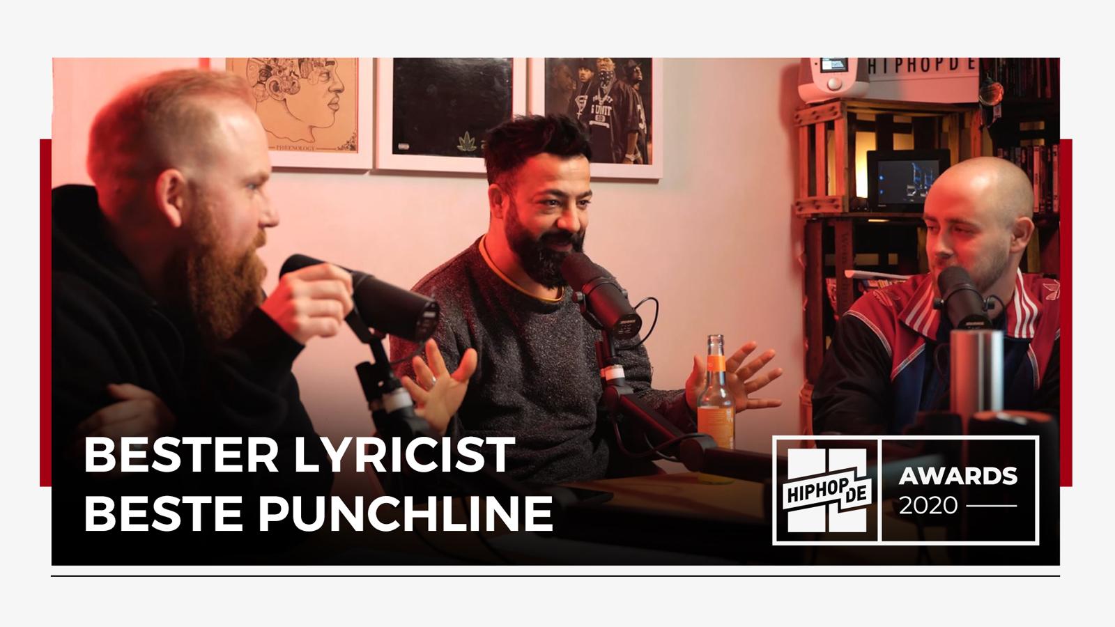 """Jahresrückblick:  """"Bester Lyricist"""" und """"Beste Punchline"""" – Hiphop.de Awards 2020 (2/8)"""