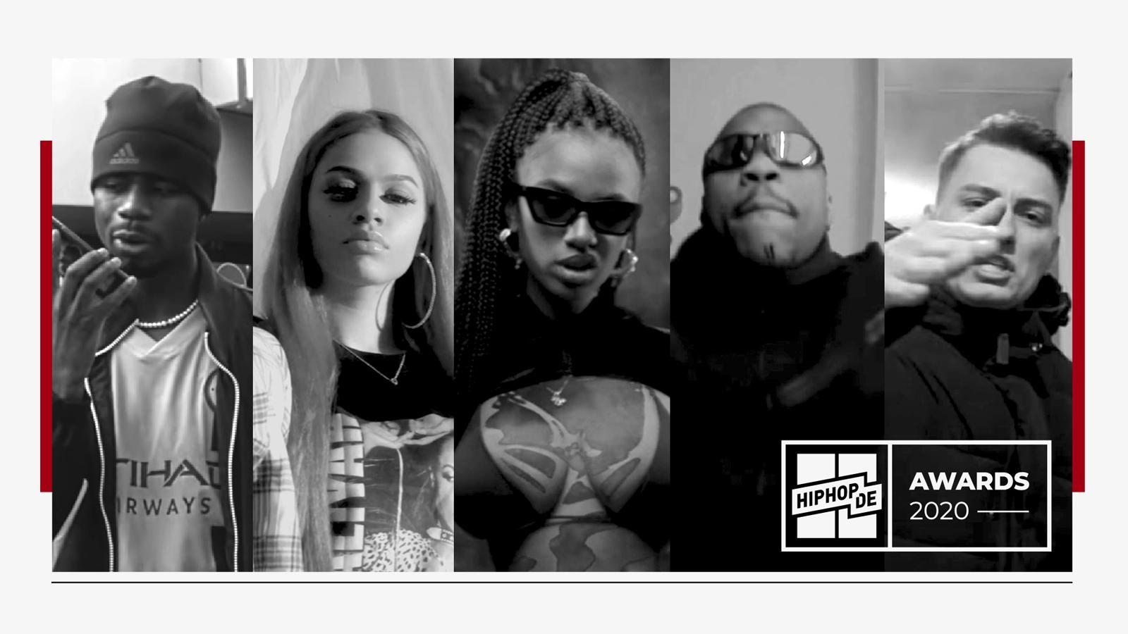 Wer sind die Newcomer des Jahres 2020?  – Hiphop.de Awards 2020