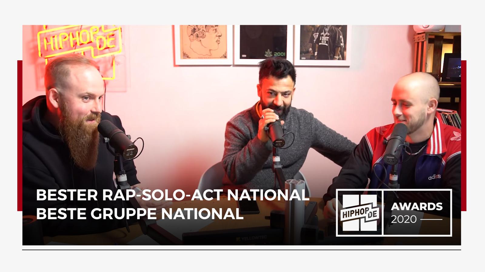 """Jahresrückblick: """"Bester Rap-Solo-Act"""" & """"Beste Gruppe"""" 2020 (4/8) – Hiphop.de Awards 2020 (4/8)"""