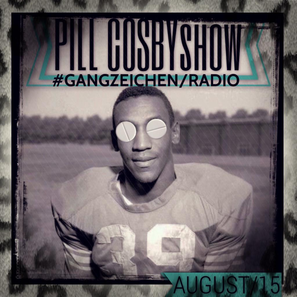 Upcoming: GANGZEICHEN - Pill Cosby Show