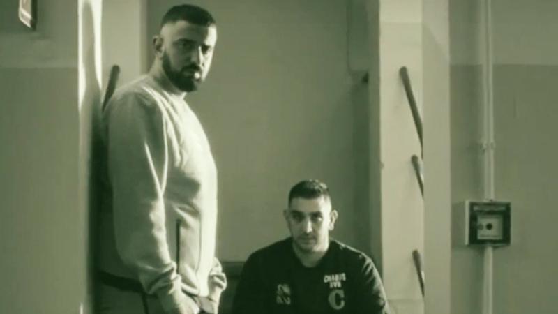 """Screenshot: Haftbefehl und Milonair im Video zu """"CopKKKilla"""""""