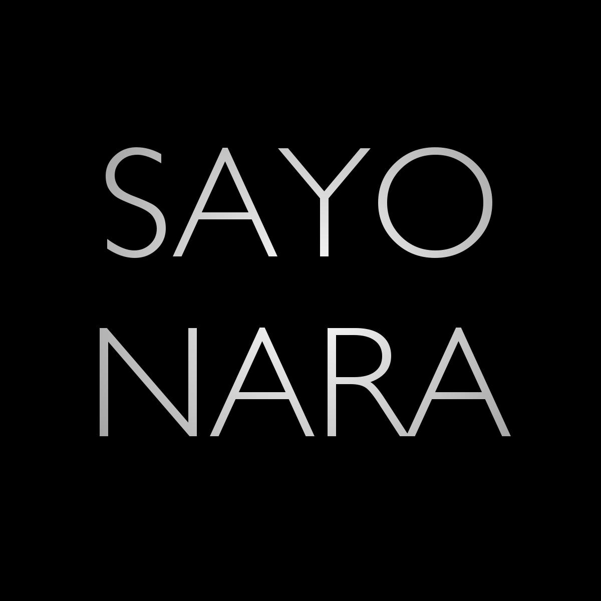 Upcoming: Sayonara - Du Bist So Perfekt