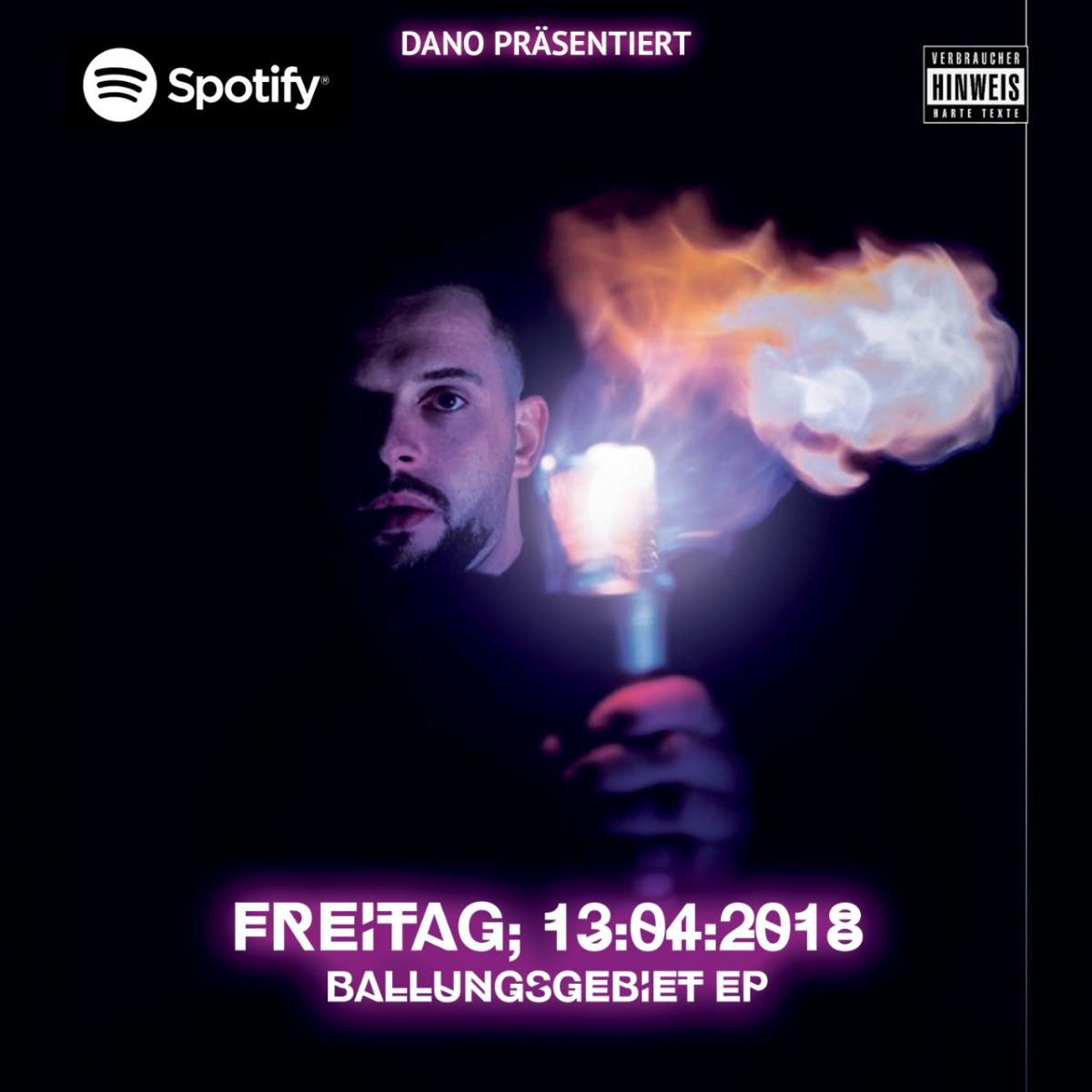 Upcoming: DANO - BALLUNGSGEBIET EP (SNIPPET)