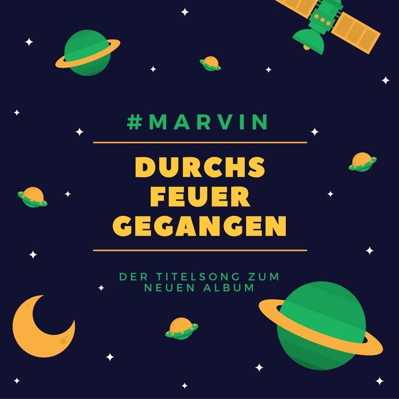 Upcoming: #MARVIN - Durchs Feuer Gegangen (Prod. By Dansonn)