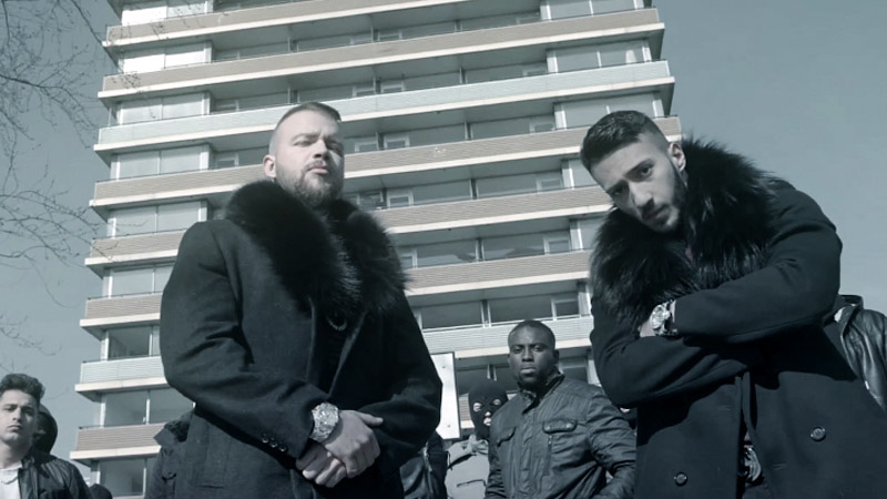 Kollegah und Seyed im Video zu MP5