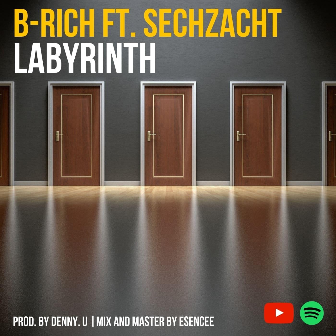 Upcoming: B-RICH, SECHZACHT - Labyrinth