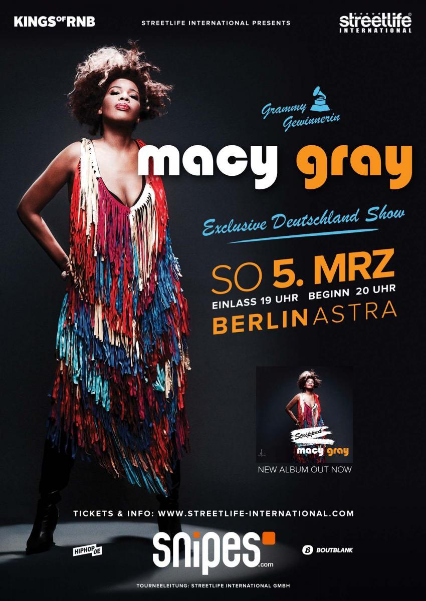 Macy Gray Stripped Tour