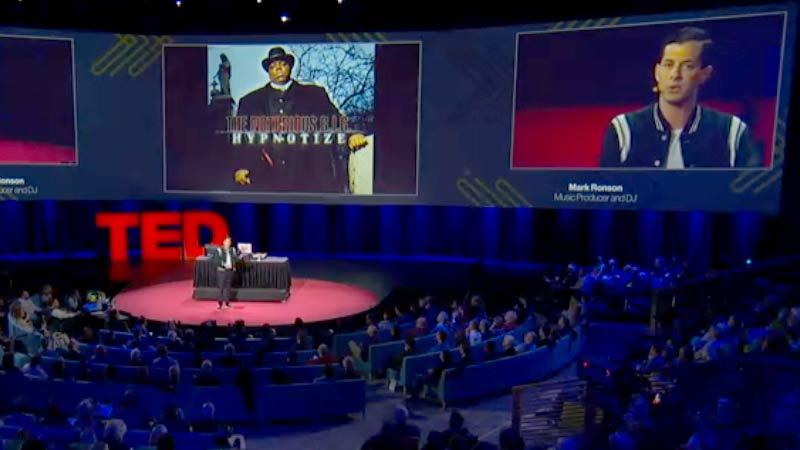 Mark Ronsons TED Talk über Sampling
