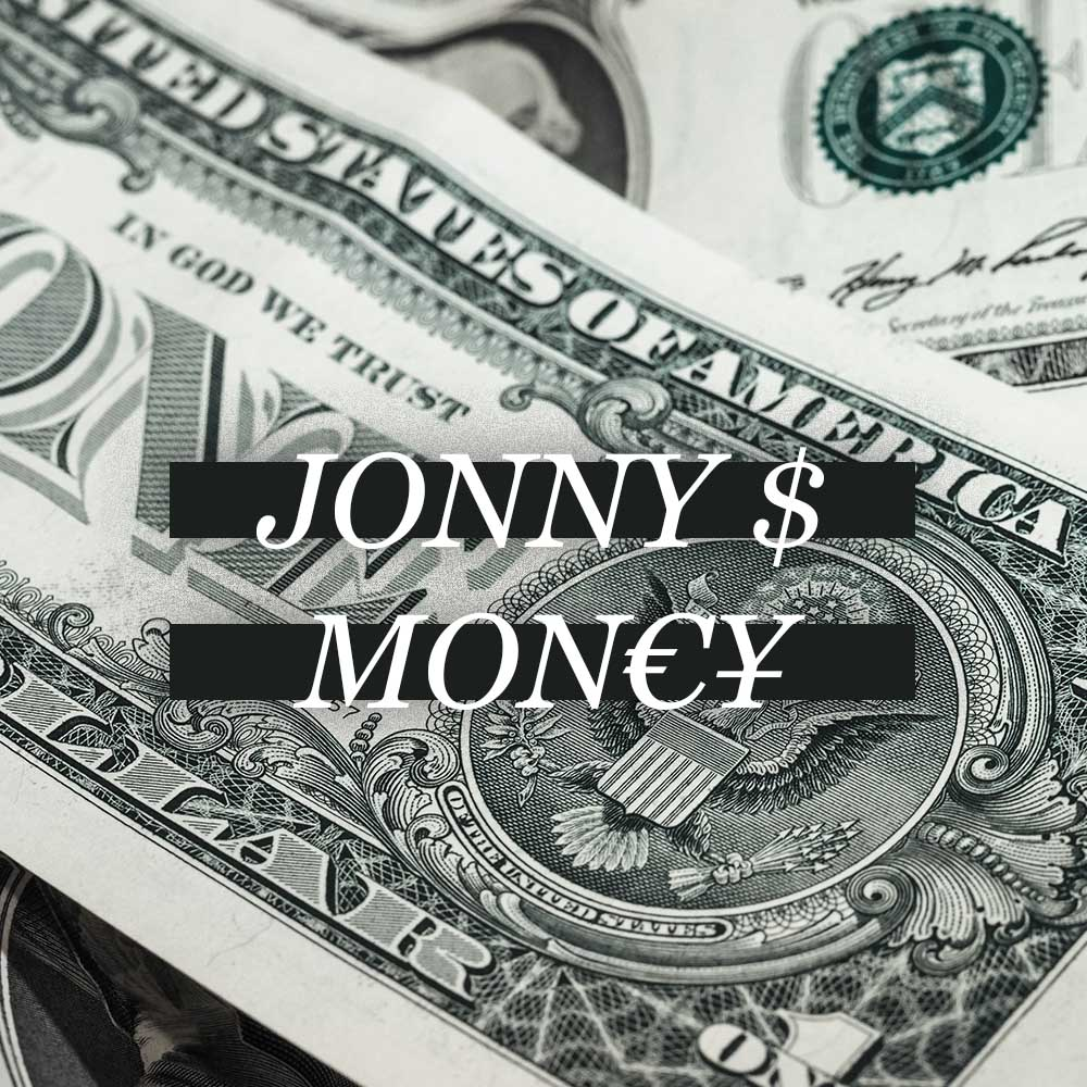 Upcoming: Jonny S - Mon€¥