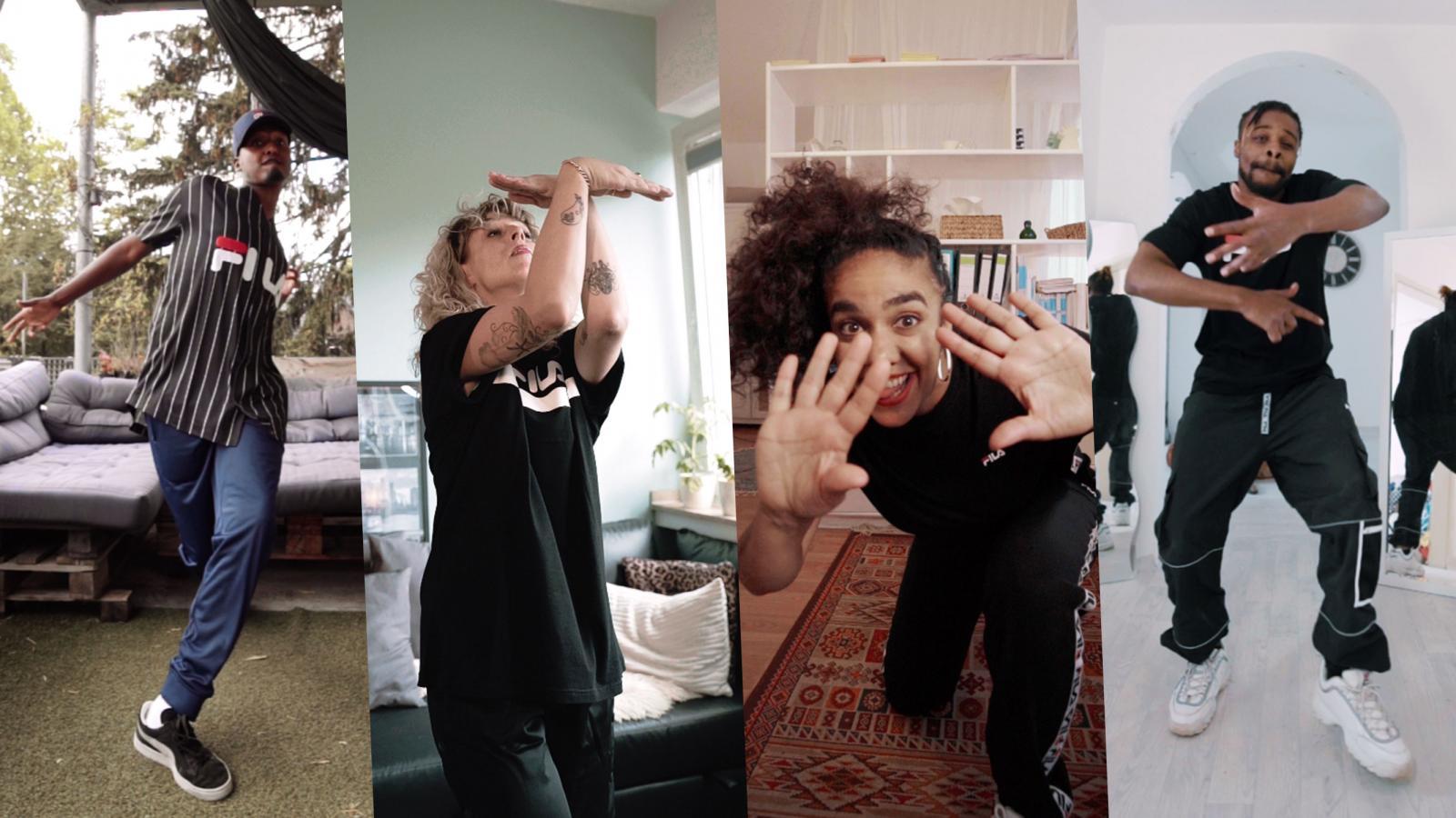 Movin goes FILA – Das Freestyle Tanzformat startet die #FilaMovin Challenge