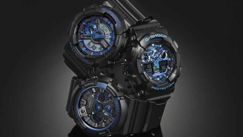 G-Shock Cool Blue Serie