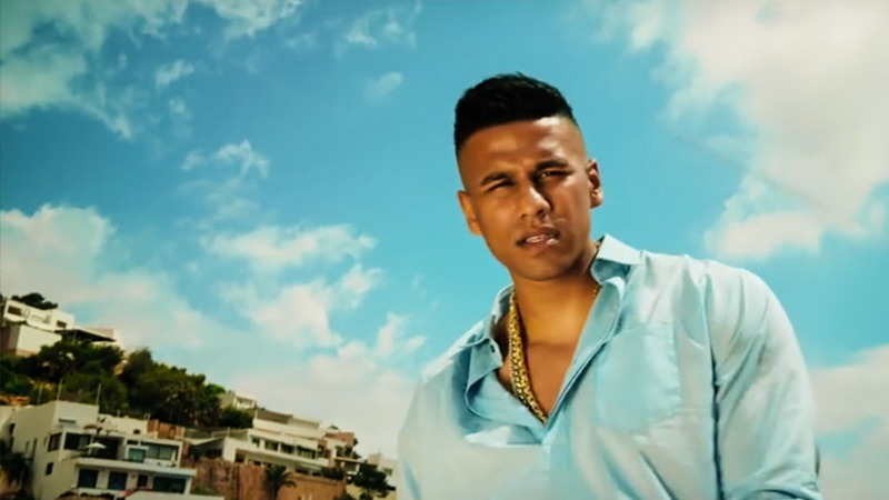 "Majoe im Video zu ""Mr. Majoe"""