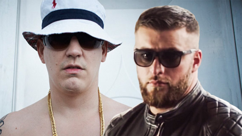Collage von Money Boy und KC Rebell