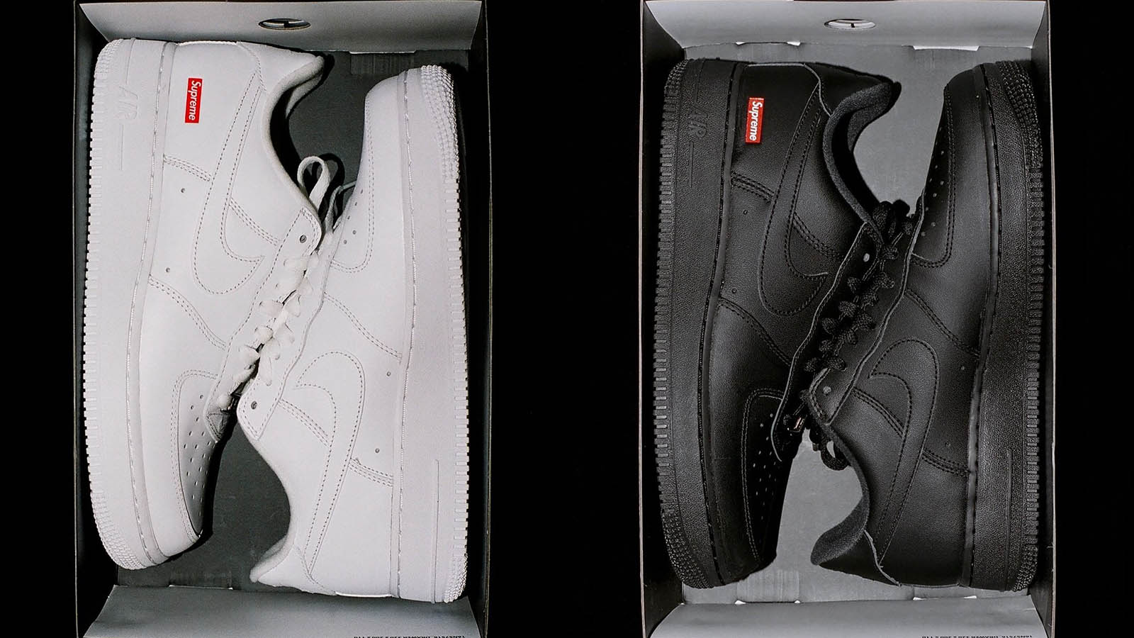 First Look: Supreme x NIKE Air Force 1 Collab  