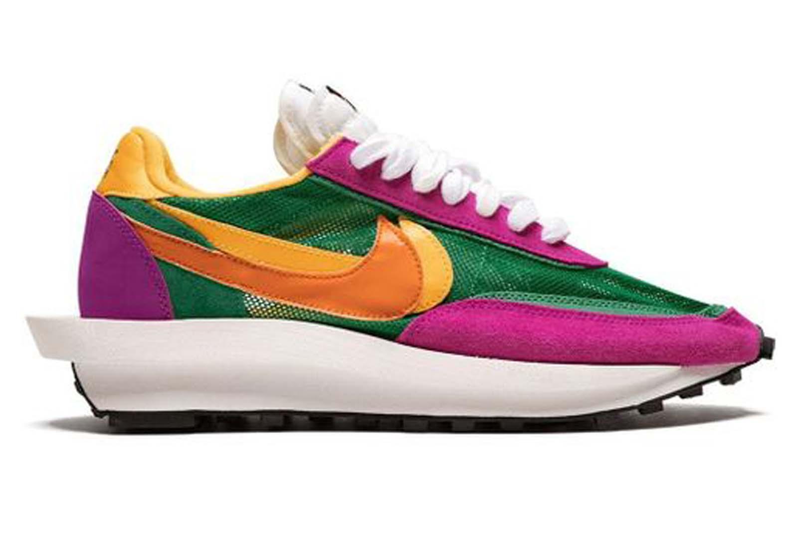Sneaker von Sacai und Nike