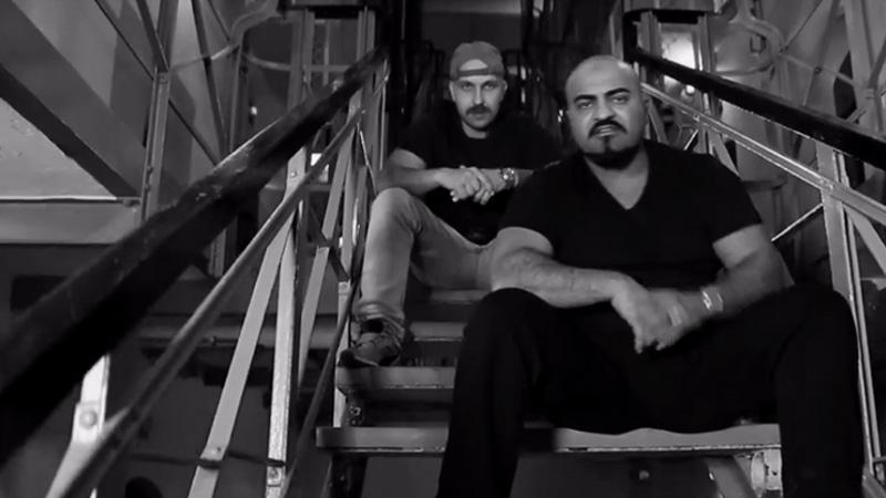 Screenshot: Plusmacher und Xatar im Video zu Arrestlokal