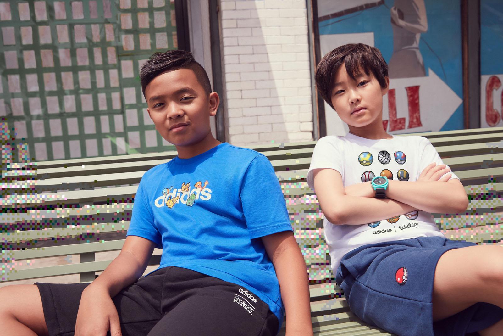 Adidas droppt Pokémon Kollektion mit Retro Grafiken |