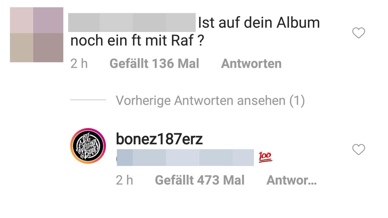 Bonez MC bestätigt Feature mit RAF Camora für sein Soloalbum