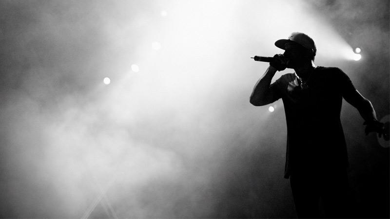 Rapper on stage – Foto: Denis Ignatov