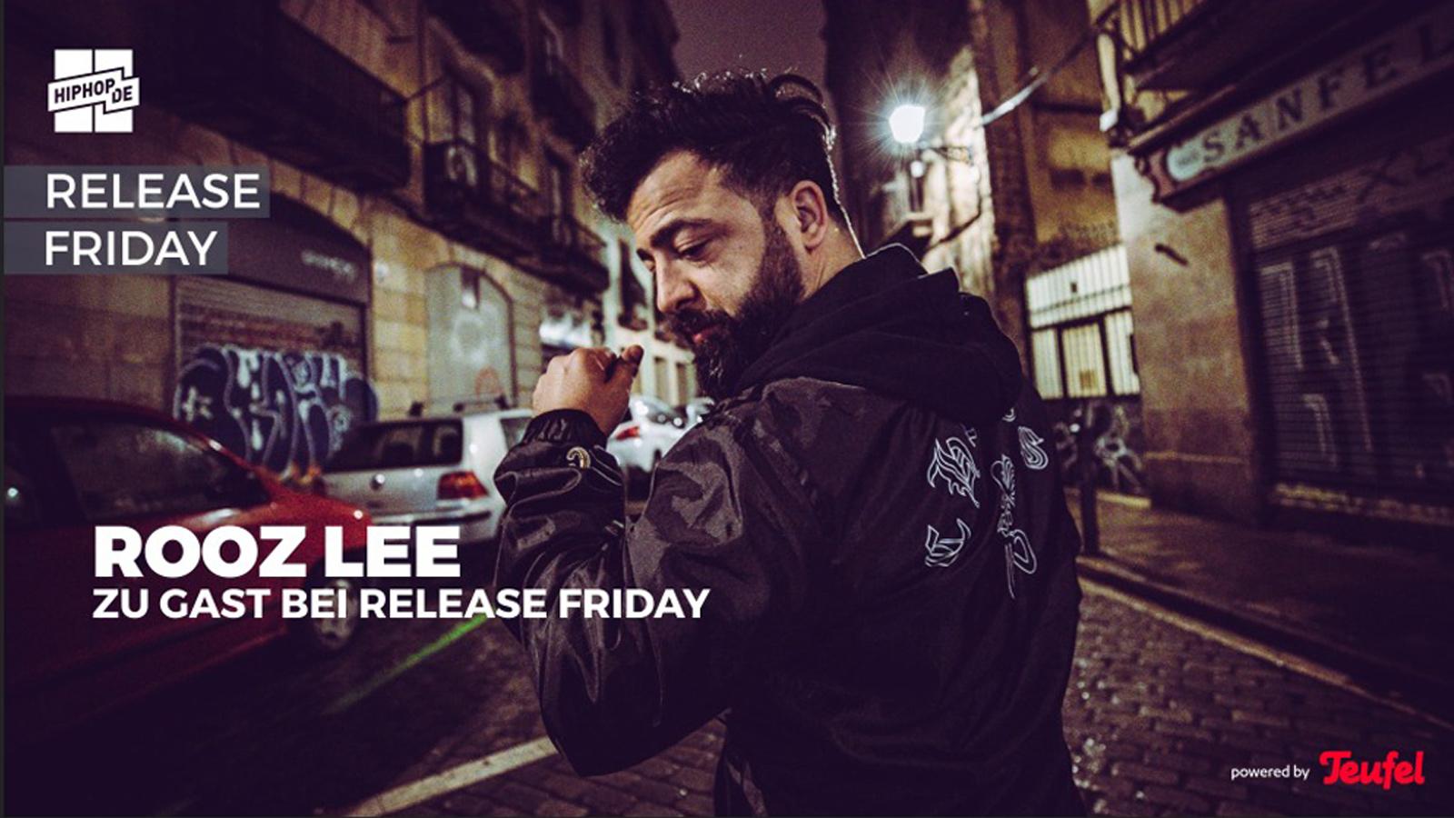 Release Friday powered by Teufel mit Rooz über Bausa, Rin, Ufo361, Sierra Kidd, OG Keemo,...