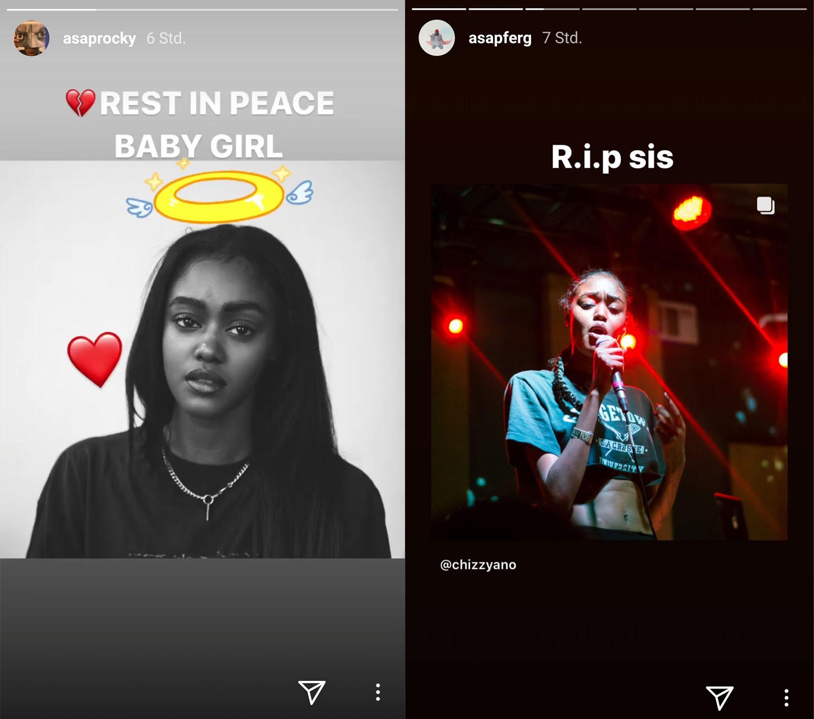 A$AP Rocky und A$AP trauern um Chynna