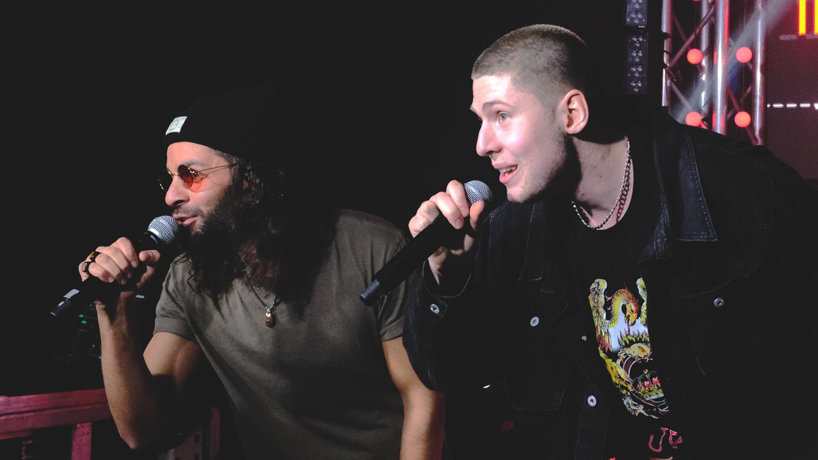 Sam James & iLLthinker @ Hiphop.de Crunchtime Cypher by Desperados