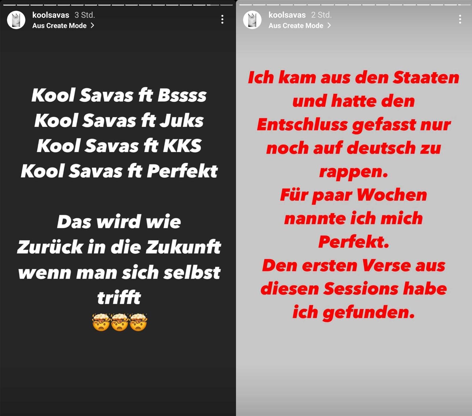 Kool Savas über seine früheren Künstlernamen