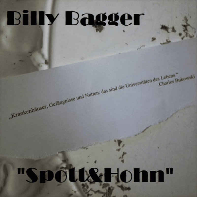 Upcoming: Billy Bagger - Spott&Hohn EP