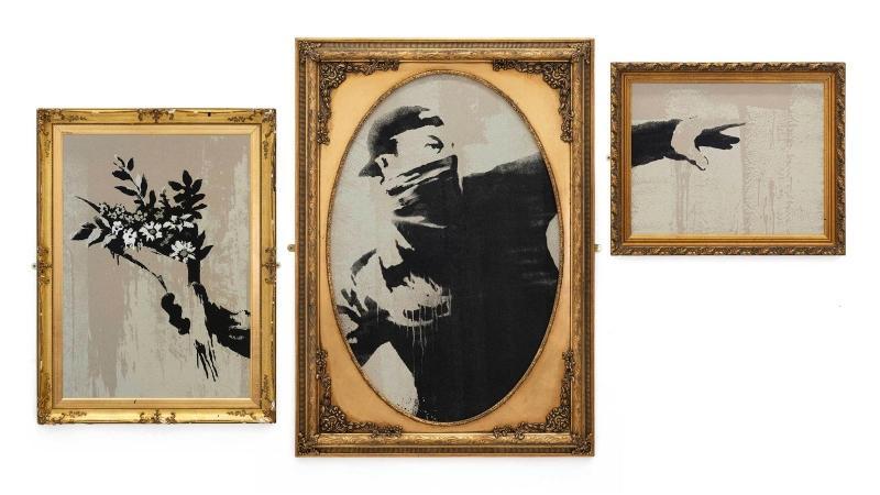 Banksy eröffnet eigenen Online-Shop Gross Domestic Product™
